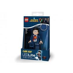 Breloc LEGO cu LED LEGO Super Heroes - Clark Kent