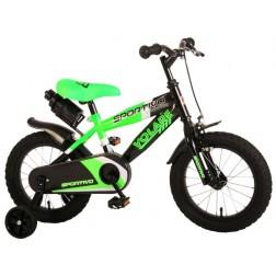 Bicicleta copii Volare Sportivo Verde, 14 inch