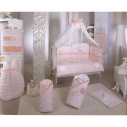 Lenjerie de pat Feretti Quartetto -Lapin pink