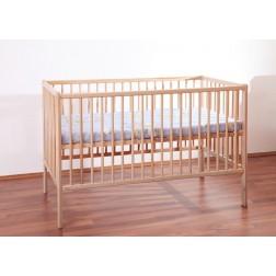Patut pentru copii din lemn fara sertar MyKids TIKO Natur 3600