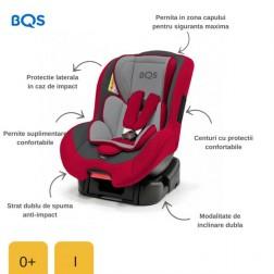 BM01R Scaun auto 0-18 kg Nonna Red, BQS