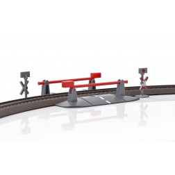 Trecere la nivel cu calea ferata cu bariere Marklin My World