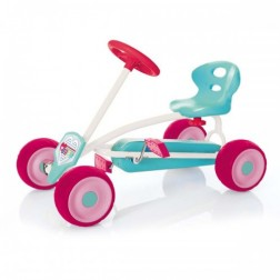 Mini Go Kart Turbo Roz pentru fetite - Hauck