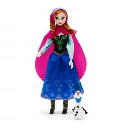 Papusa Printesa Anna din Frozen si Olaf
