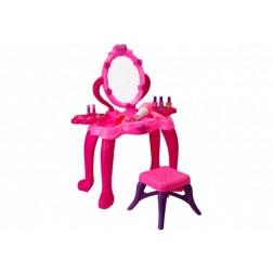 Set frumusete fete Oglinda cu scaunel Globo Sbelletti cu muzica si lumini
