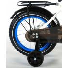 Bicicleta baieti 14 inch Thombike Alb cu Albastru - Volare