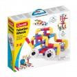Joc creativ pentru copii cu Tuburi rotative si roti Quercetti 68 piese