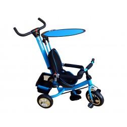 Tricicleta parasolar - albastru