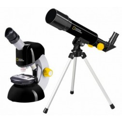 Set microscop si telescop National Geographic