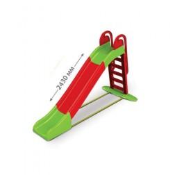 Tobogan 243 cm Rosu si Verde - MyKids
