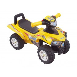 Masinuta de impins copii Baby Mix ATV Quad URHZ551 Yellow