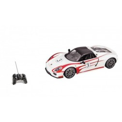 Masinuta cu telecomanda Mondo Porsche 918 Racing scara 1:10 cu acumulator 6V inclus