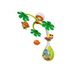 Carusel muzical si cu lumini pentru patut bebe Baby Mix 01917400
