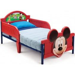 Pat cu cadru metalic Disney Mickey Mouse 3D