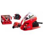 Mondo Motors Set lansator cu 2 motociclete Ducati Valentino Rossi
