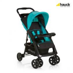 Carucior Shopper Comfortfold Black/Aqua