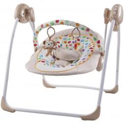 Leagan electric pentru copii cu conectare la priza Monkey - Sun Baby