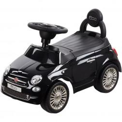 Masinuta fara pedale Fiat 500 Vip Edition Negru Sun Baby