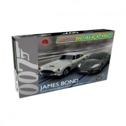 Pista masinute James Bond Scalextric 4m traseu masinute Aston Martin DB5 si Aston Martin DBS