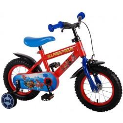 Bicicleta pentru baieti 12 inch, cu roti ajutatoare, Paw Patrol