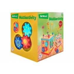 Cub educational multiactivitati din lemn, Globo