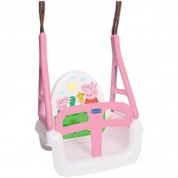 Leagan Multifunctional 3 in 1 Peppa Pig roz - Tega Baby