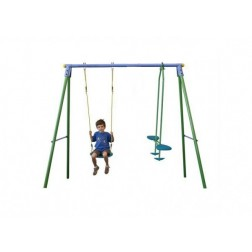 Ansamblu leagane Palau Leagan simplu si leagean balansoar pentru 3 copii