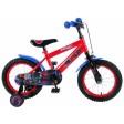 Bicicleta pentru baieti 14 inch, cu roti ajutatoare, Ultimate Spiderman