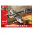 Kit aeromodele Airfix 6103 Avion Supermarine Seafire FR.46/FR.47 Scara 1:48