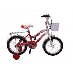 Bicicleta BMX 16 Rosu Cadru Fata - MyKids