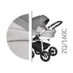 Carucior 3 in 1 cu Cadru Alb Baby Merc Zippy Q - ZQ160C