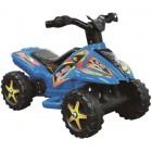 QUAD albastru cu pedala acceleratie pentru copii