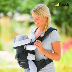 Marsupiu 4 Way Carrier - Black