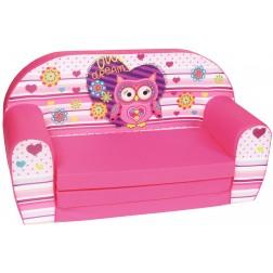Canapea extensibila din burete pentru copii Owl Dreams Trade