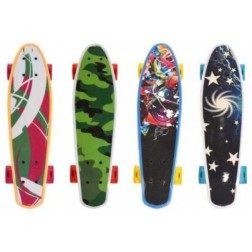 Skateboard cu led - Globo