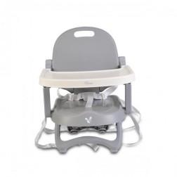 Scaun de masa inaltator pentru copii Cangaroo Papaya Grey