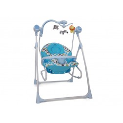 Leagan Electric Bebelusi CANGAROO Swing Star Albastru