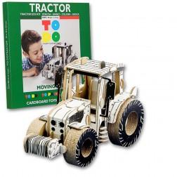Joc creativ 3D Tractor