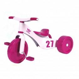 Tricicleta copii Palau 3 in 1 plastic Custom Trike Roz