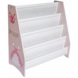 Organizator carti cu cadru din lemn Princess