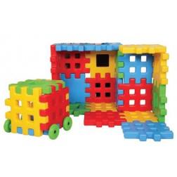 Set de constructie gigant Educational Blocks Super Plastic Toys