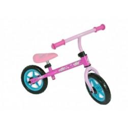 Bicicleta fara pedale Saica Hello Kitty pentru copii roti 12 inch