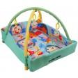 Saltea de joaca pentru copii cu protectii laterale Happy Nest - Baby Mix