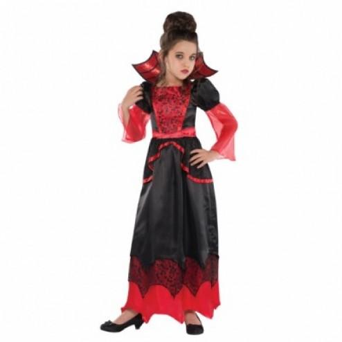 Costum Carnaval Copii Regina Vampirilor 4-6 ani