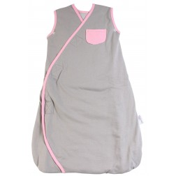 Sac de dormit multifunctional Grey Pink Elephant Travel 0-6 luni 2.5 Tog