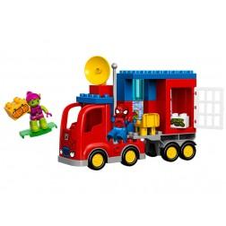 Aventura Omului Paianjen cu camionul sau LEGO DUPLO (10608)