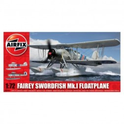 Kit aeromodele Airfix 5006 Avion Fairey Swordfish Mk.I Floatplane Scara 1:72