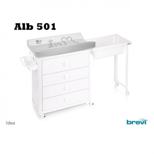 Comoda Idea Alb - Brevi