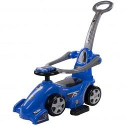 Masinuta Multifunctionala Ferrari - Sun Baby - Albastru
