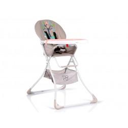 Scaun de masa copii Moni Cherry Roz